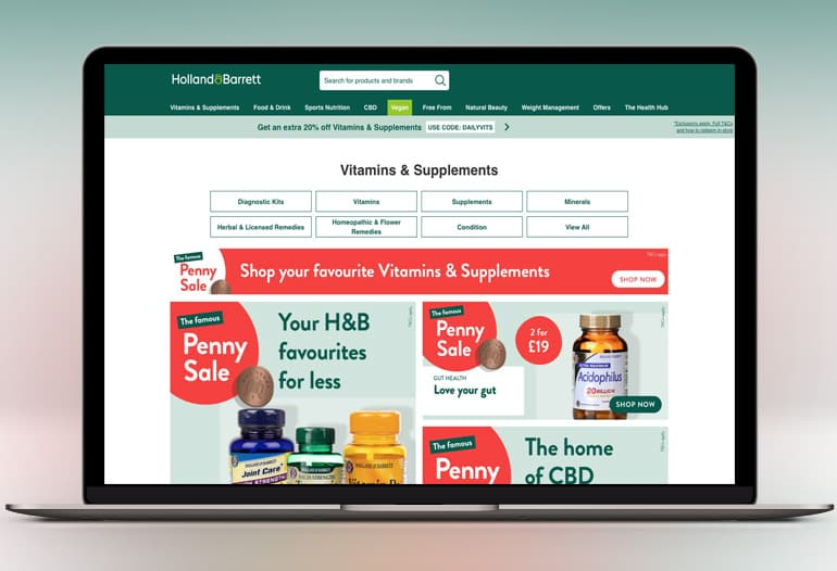 The UK's Leading Health & Wellbeing Store