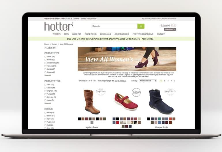 HOTTER SHOES Promotional Codes UK → 35% OFF | Net Voucher Codes