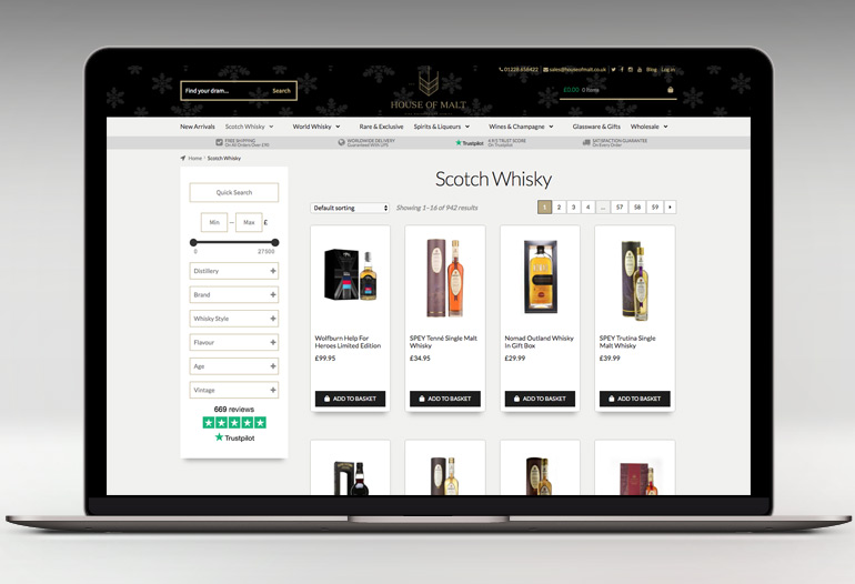 Buy Whisky, Gin, Rum and More