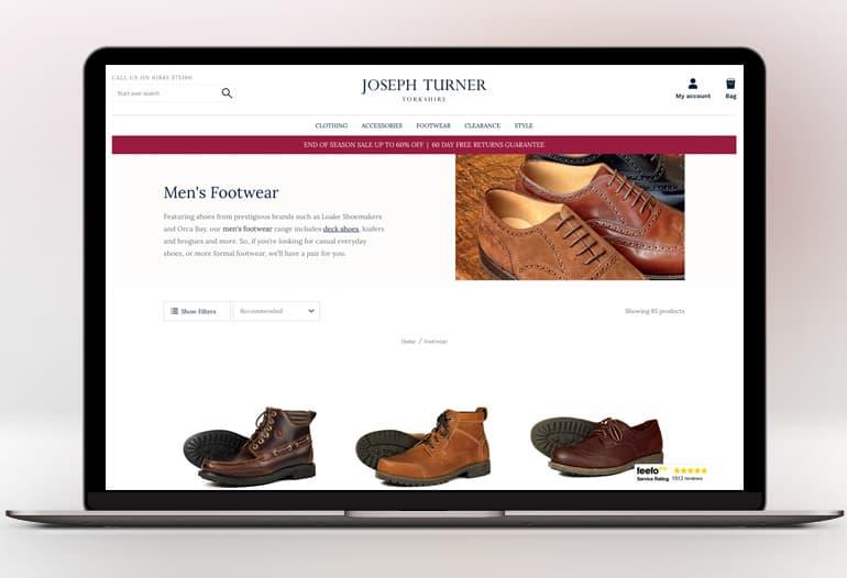 joseph turner shirts footwear