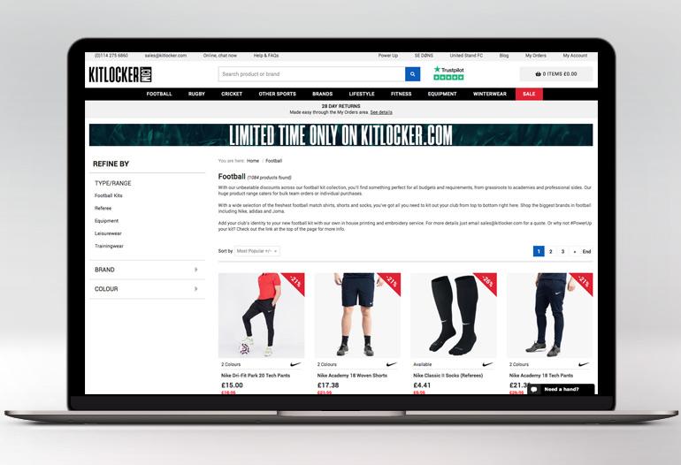 Football Kits, Sportswear & More