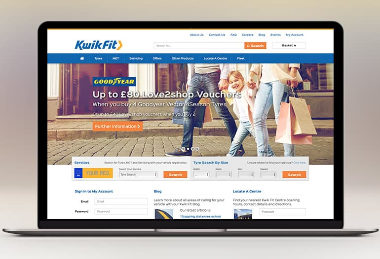 kwikfit homepage