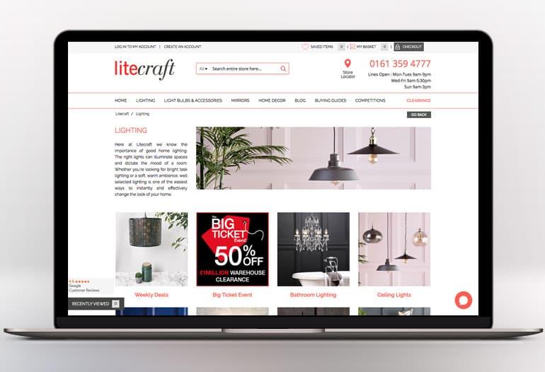 Luxury Lighting online