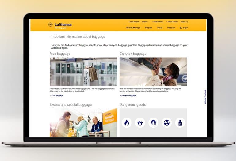 Lufthansa coupons 2019
