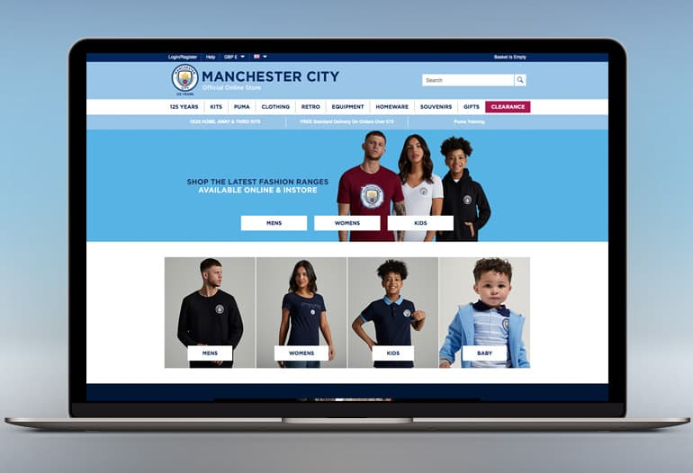 Man City Clothing