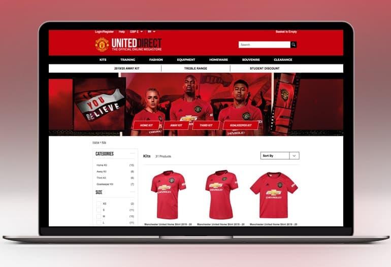 Man Utd Shirts