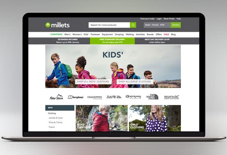 millets kids