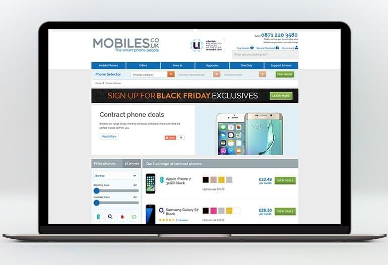 mobiles contract phones