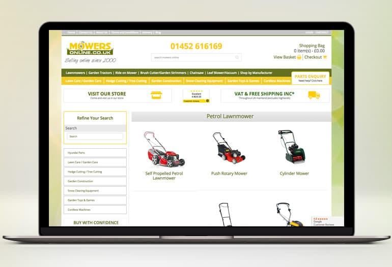 mowers online lawn mowers