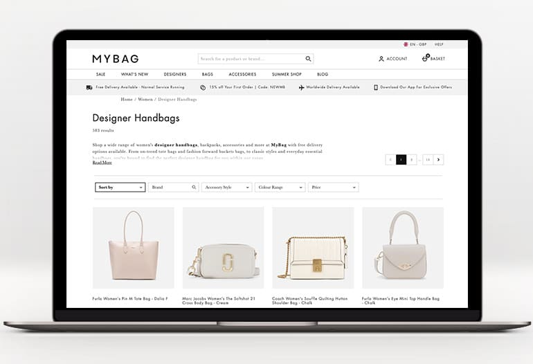 Designer Handbags at MyBag