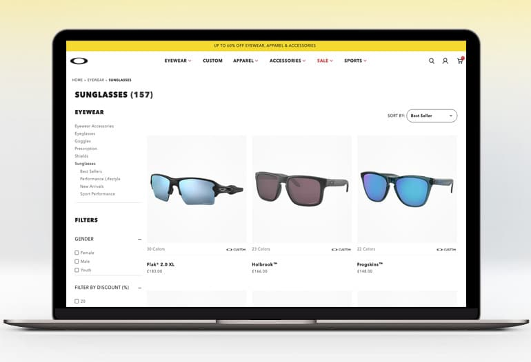 Discover Sunglasses, Goggles, Apparel, and More Available at the Oakley Official Website.