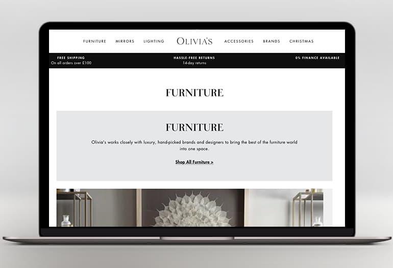olivias furniture
