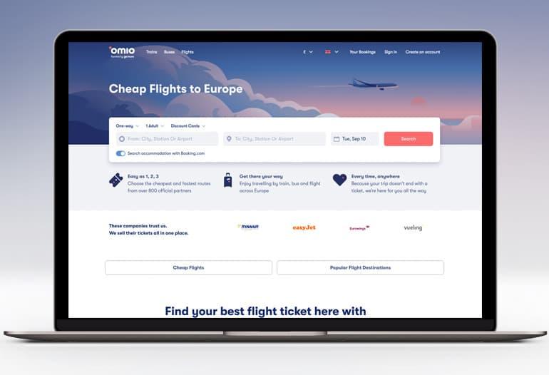 Omio Flights to Europe