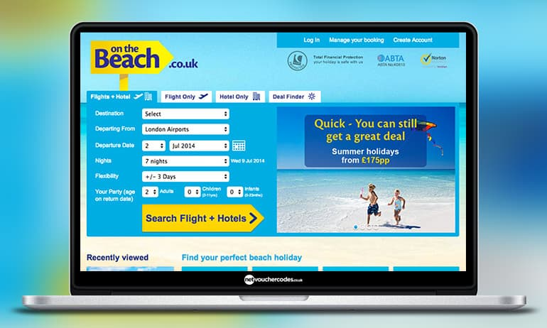 Get £ for a limited time only with our On The Beach Discount Codes. Discover 11 On The Beach Voucher Codes tested in November - Live More, Spend Less™. Our experts test and verify all of the latest On The Beach deals and offers to save you time.
