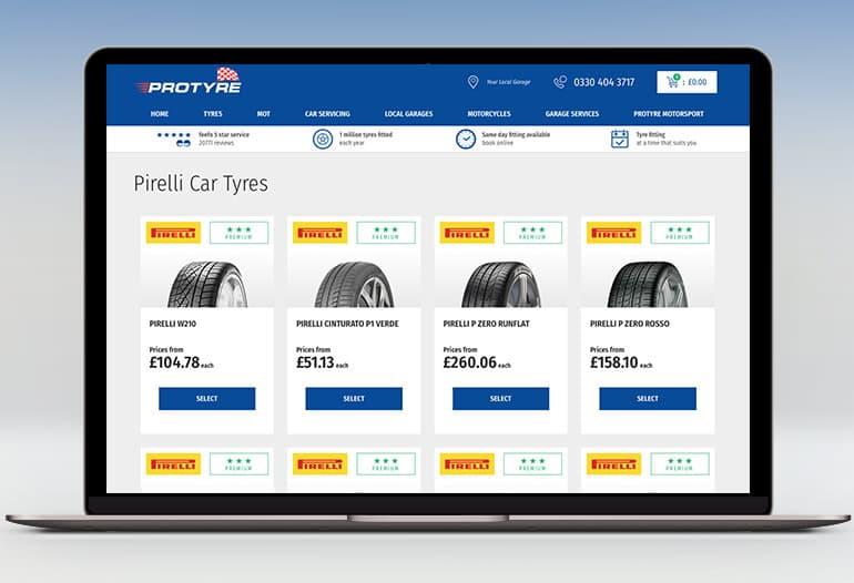 protyre pirelli car tyres