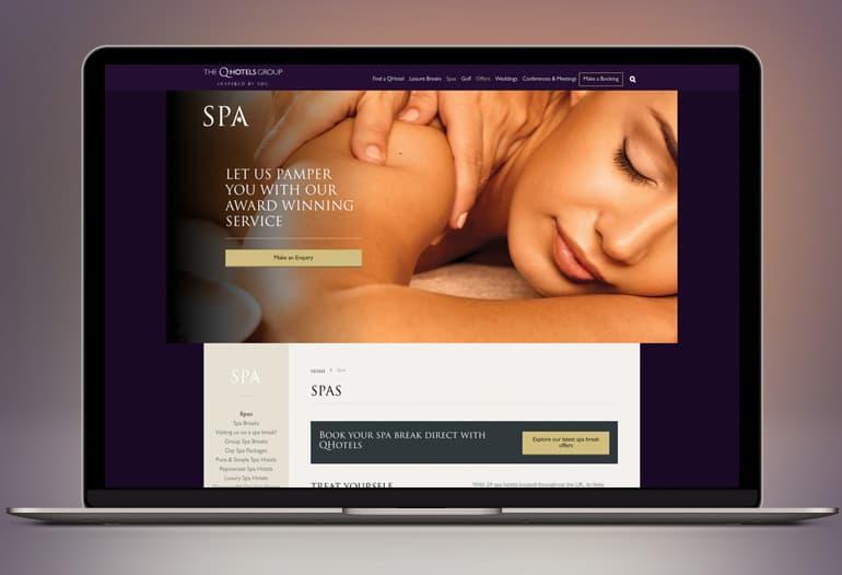 q hotels spa