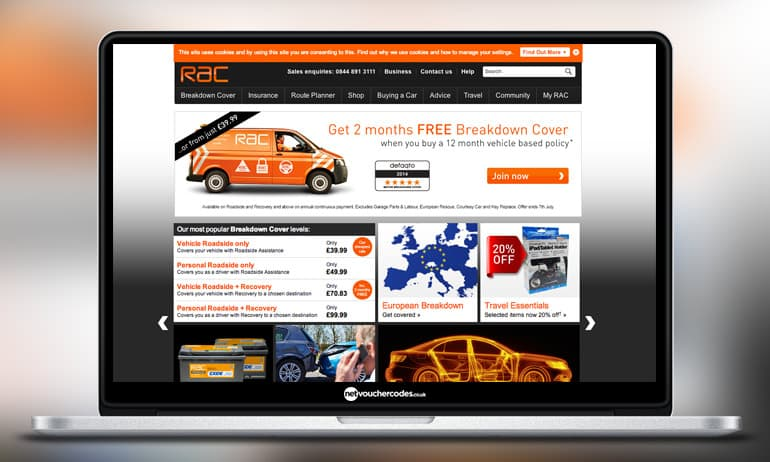 Rac Travel Directions By Car