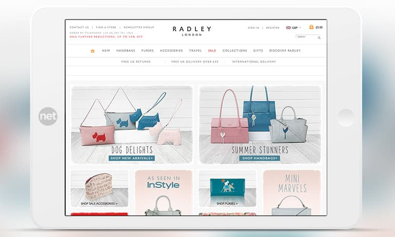 Radley Voucher & Promo Codes December The British handbag designer, Radley is famous for their use of the highest quality leathers and the scottie dog emblem on their handbags. If you want luxury for less grab one of our Radley discount codes to save money.