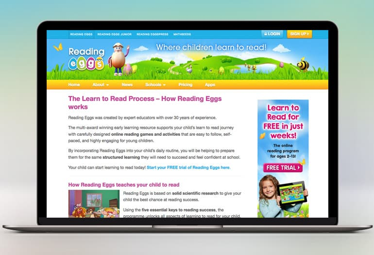 Reading eggs coupon 2018