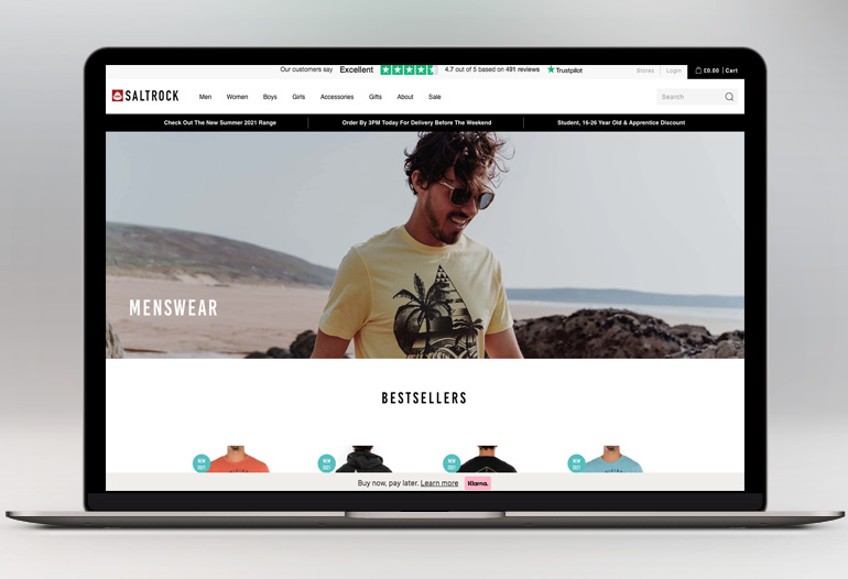 Shop The UK's Original Surfwear Brand Online. Unique, Surf-Inspired Designs. Inspired By Open Spaces.