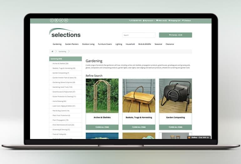 selections gardening