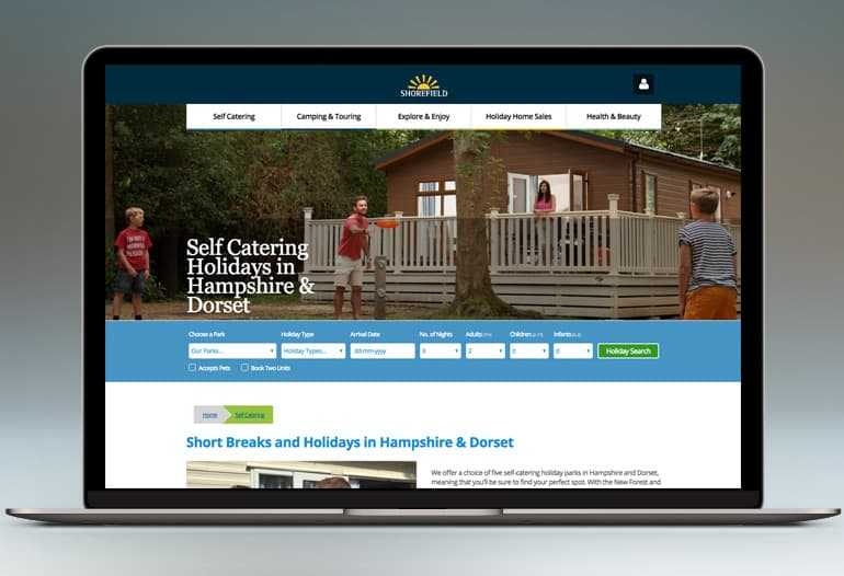 shorefield holidays self catering