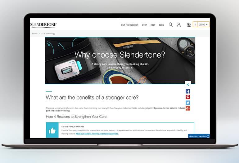 slendertone why choose