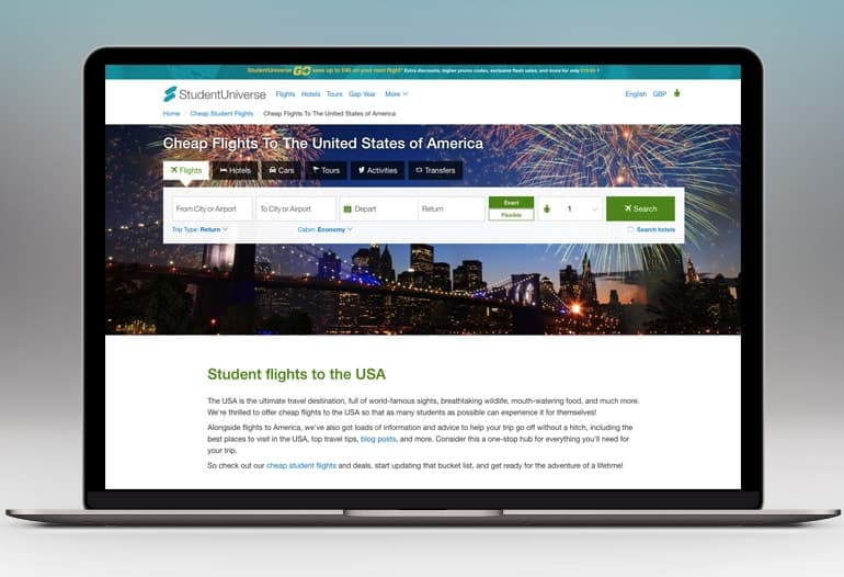 Cheap Flights to the USA
