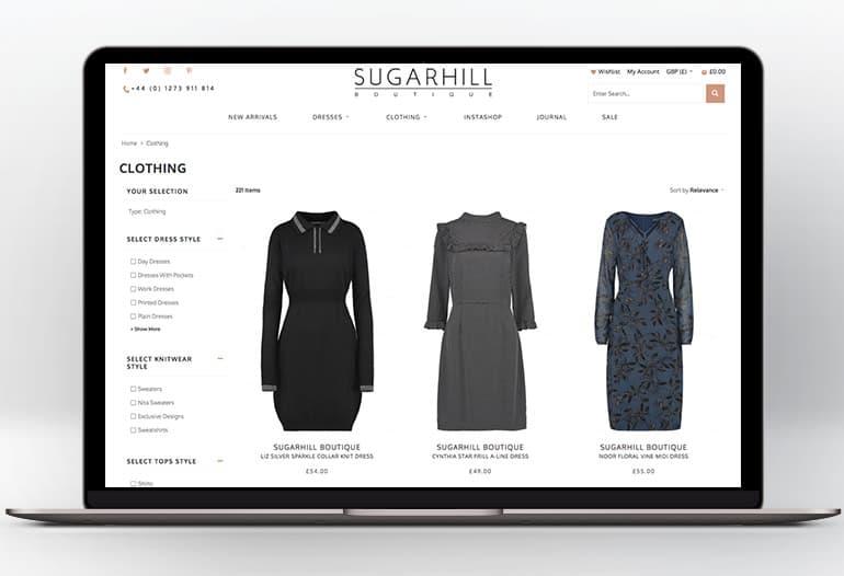 sugarhill boutique clothing