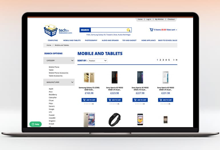 techinthebasket mobiles and tablets