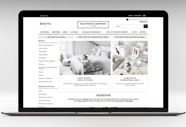 Take a look at our 6 The White Company UK promo codes including 5 sales, and 1 free shipping coupon code. Most popular now: Up to 60% Off Sales Section on The White Company UK. Latest offer: Home Accessories Sale on The White Company UK.
