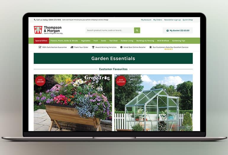 thompson and morgan garden essentials