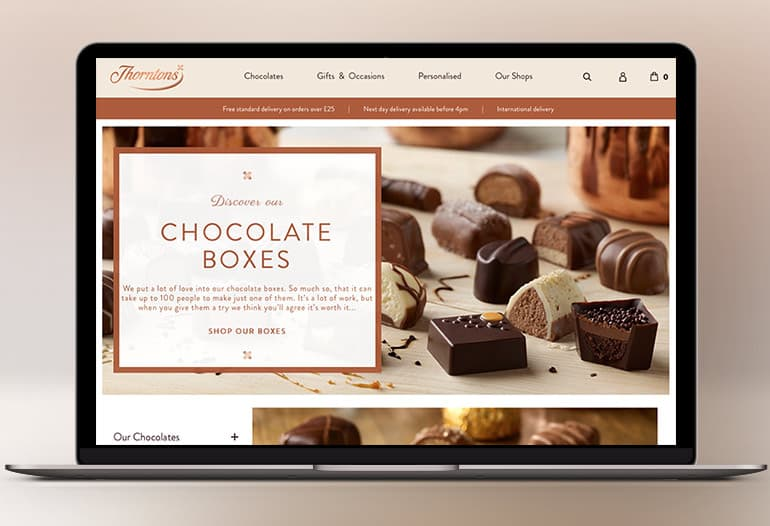 thorntons chocolate boxes
