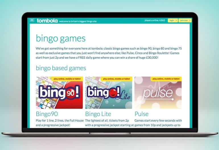 tombola bingo games