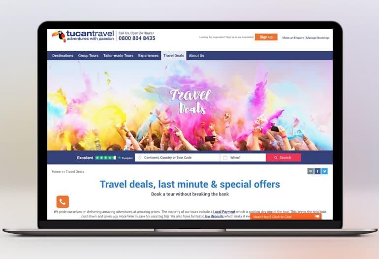 Tucan Travel Last Minute Deals