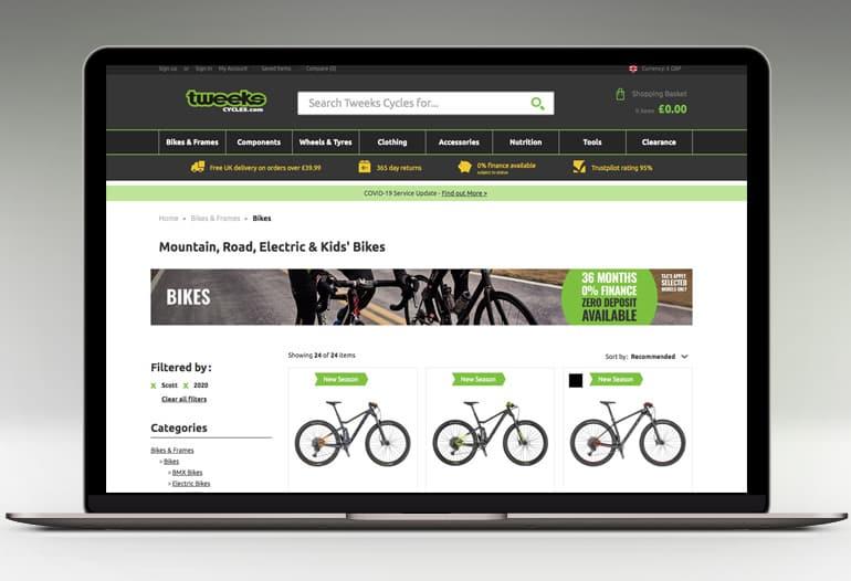 Tweeks Cycles Bike Shop