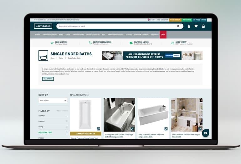 The UKs Premium Online Bathroom Retailer