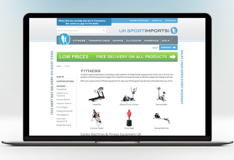 Home Fitness Equipment & Games‎