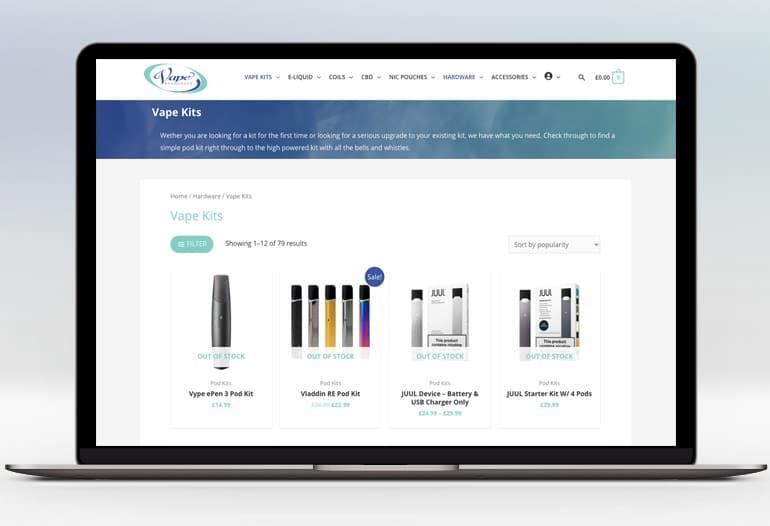 UK Online Vape Shop