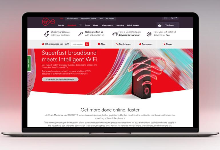 Super fast Broadband