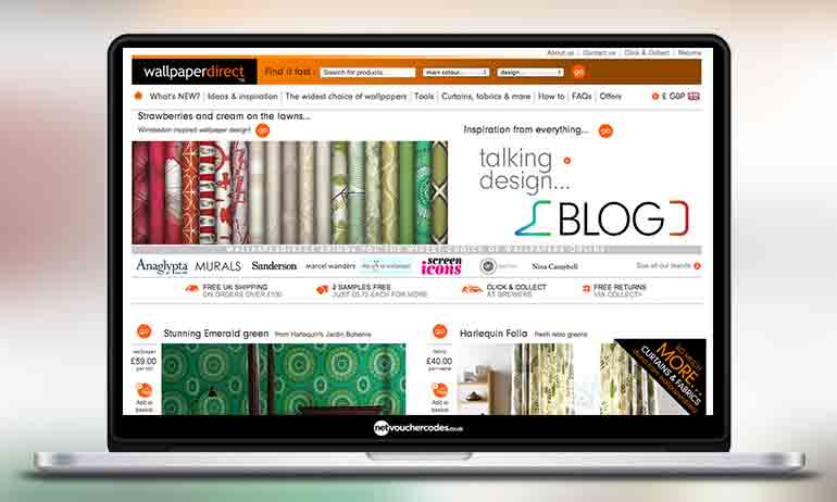 Wallpaperdirect Voucher Codes Active Codes and Discounts - December Favourite Favourite visit site. 3 you'll find the perfect colour or design for everything from feature walls and kids' rooms to kitchens and hallways at Wallpaper Direct. Choose from over 11, wallpapers in over 4, patterns, including florals, stripes.