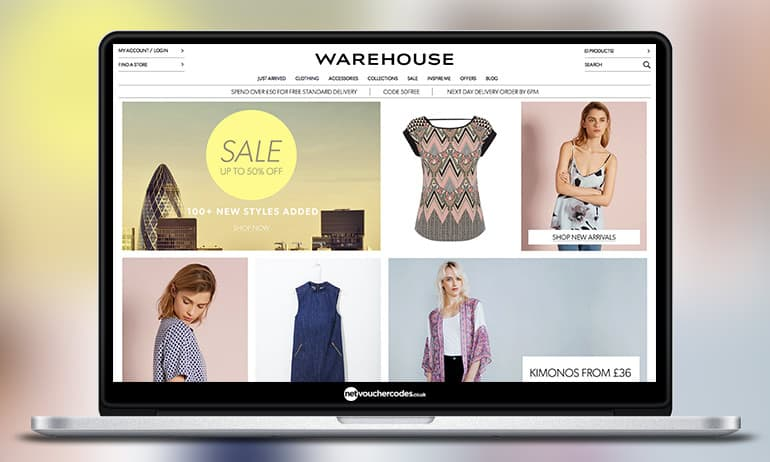Need a new outfit? Discover new season clothes and accessories at Warehouse. Shop the latest style and trends across women's fashion now.
