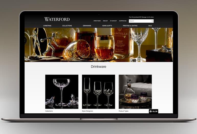 waterford drinkware new
