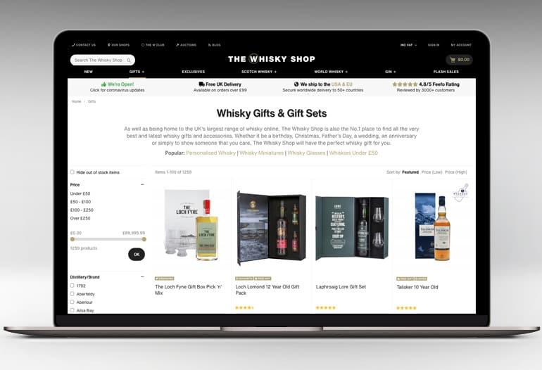 Scotch, Irish and world whiskies