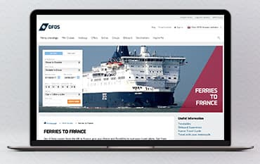 DFDS Seaways store front