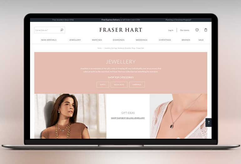 Fraser Hart store front
