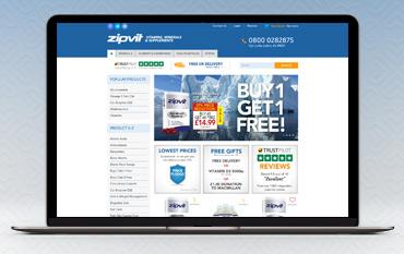 ZipVit store front