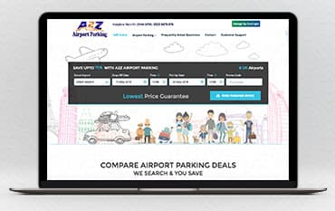A2Z Airport Parking store front