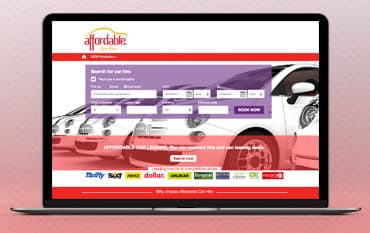 Affordable Car Hire store front