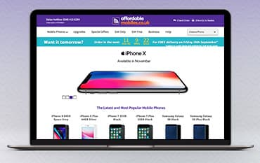 Affordable Mobiles store front